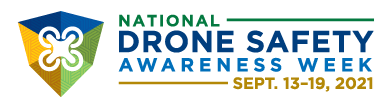 Logo for FAA Drone Safety Awareness Week